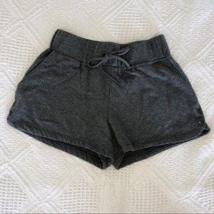 Maurices Inmotion Gray Cotton Shorts